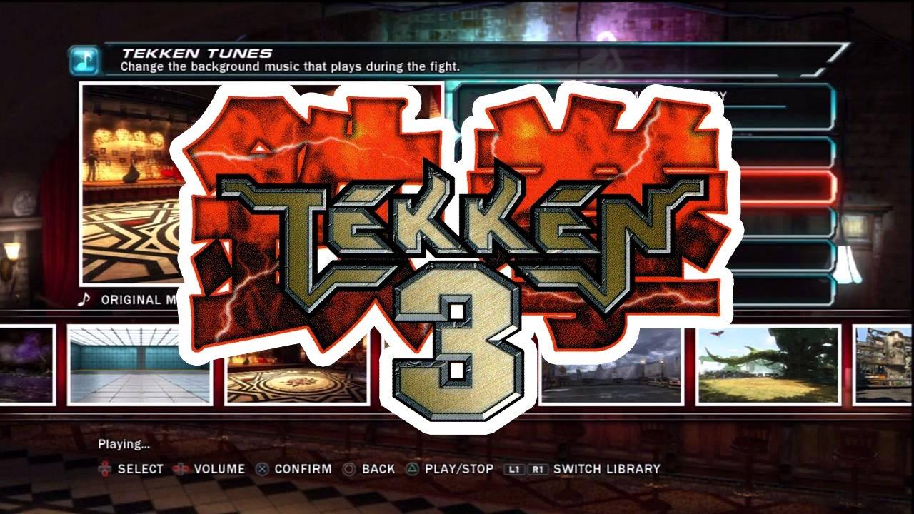 Keičiame Tekken Tag Tournament 2 garso takelį į Tekken 3