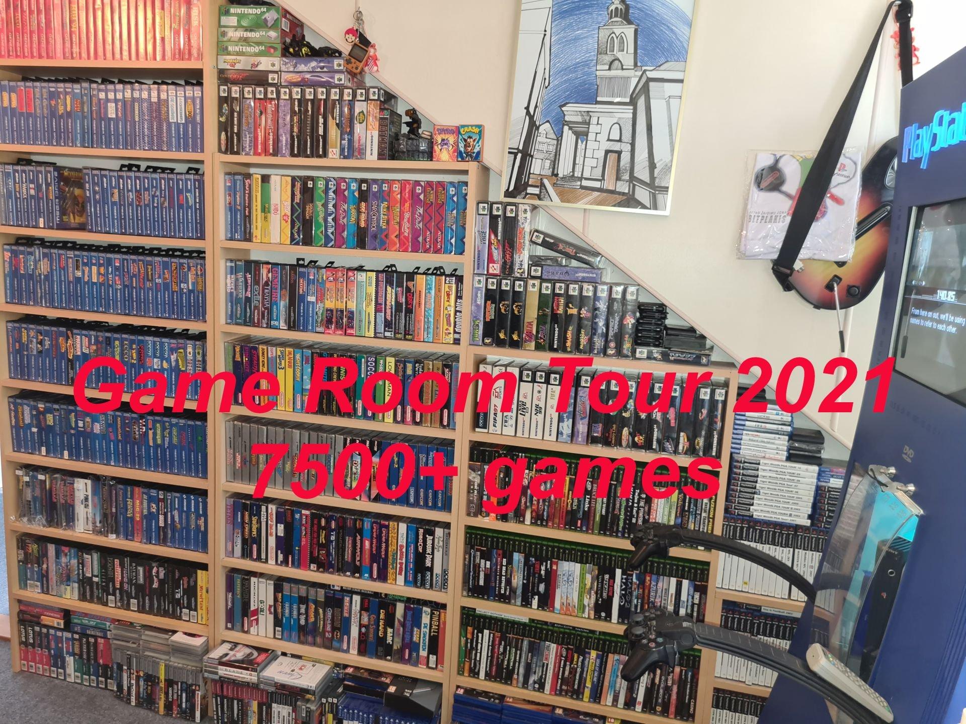 Game Room tour 2021